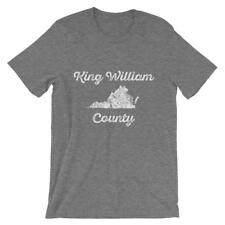 "King William County, Virginia ""Faded"" - Men's T-shirt"