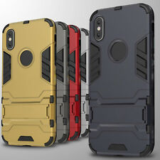 For Apple iPhone X 8 7 6 Plus 5S Case Hard Kickstand Protective Slim Phone Cover