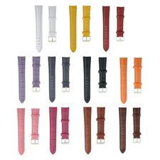 Many Color Classic PU Leather Watch Strap Band Wristwatch Strap Replacement 18mm