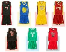 INFANT BABY BASKETBALL CURRY, JORDAN, WADE, JAMES, BRYANT JERSEY W/ SHORT SET