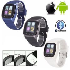 2017 M26 Bluetooth 4.0 Smart Wrist Watch Phone Mate Wristwatch For iOS Android