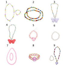 Plastic Jewelry Necklace Bracelet for 18'' American Girl Doll Dress Clothes