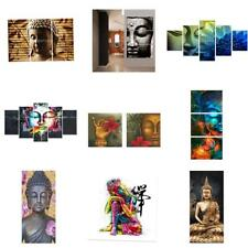 Unframed Modern Abstract Canvas Oil Painting Colorful Buddha Home Wall Decor Art