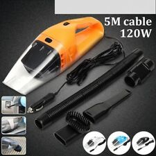 New Car Vacuum Cleaner 5m 120w 12v Super Suction Wet And Dry Dual Use Vacuum