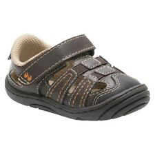$23! Surprize by Stride Rite ACE Brown Fisherman Sandals Baby Toddler Boys Shoes