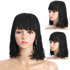 Segegalese Bob Cut Braided Wig Afro 3X Twist Box Braids Bobo Wig for Black Women
