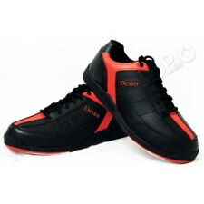 Dexter Ricky III Men's Bowling Shoes Black/Red Super for the Beginning