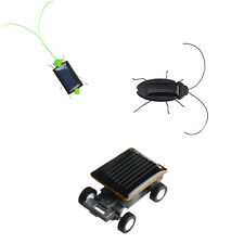 Amazing Solar Powered Robot Insects And Car For Childrens Educational Toys Gift