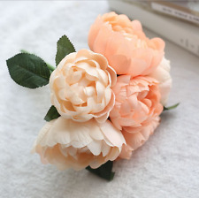 New Artificial Rose Peony Silk Flower Bridal Hydrangea Home Wedding Garden Decor