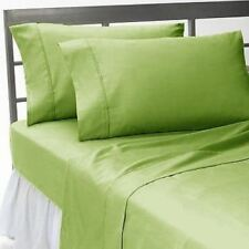 All Bedding Items 1000 TC Best Egyptian Cotton Sage Solid US Sizes""