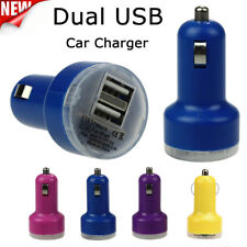 Universal Dual USB 2 Port Car Charger Adapter For iPhone iPod Touch iPad