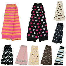 Baby Toddler Adorable Striped Dots Star Arm Leg Warmers Cotton Warm Socks Tights