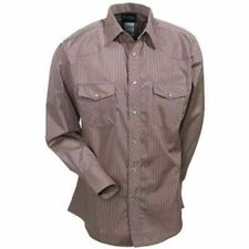 Wrangler Men's Tan Western Dress Shirt 74742TN