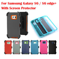 Defender Case for Galaxy S6 & S6 edge Plus With Screen (Belt Clip fit Otterbox)