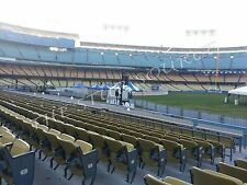 2 SF Giants vs LA Dodgers 3/29 Tickets 2018 Opening Day 9th Row Field On Aisle
