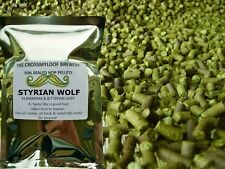 25g - 450g Styrian Wolf Hop Pellets Fresh 11.1%AA for Home Brew 2016 Harvest
