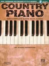 COUNTRY PIANO - MARK HARRISON (PAPERBACK) NEW