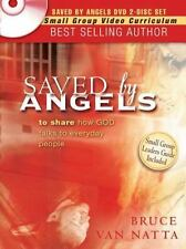 Saved By Angels DVD Bruce Van Natta Small Group Video Curriculum W/Study Guides