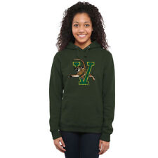 Vermont Catamounts Women's Green Classic Primary Pullover Hoodie - College