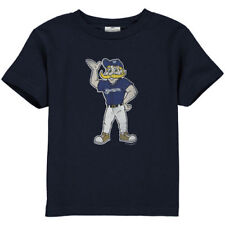 Milwaukee Brewers Toddler Distressed Mascot T-Shirt - Navy Blue - MLB