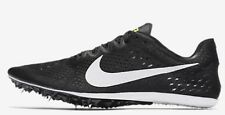 Nike ZOOM VICTORY-3 MEN'S RACING SPIKE Black/Volt/White-Size US 5, 5.5, 6 Or 6.5