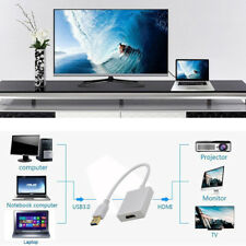 USB 3.0 To HDMI HD 1080P Video Cable Adapter Converter For PC Laptop HDTV TV PVC