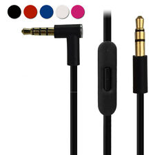 3.5mm Audio Replacement Cable w/ Aux & Mic Cord for Beats by Dr Dre Headphones