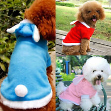 Small Pet Dog Cat Cute Bunny Warm Autumn Winter Clothes Puppy Costumes Apparel