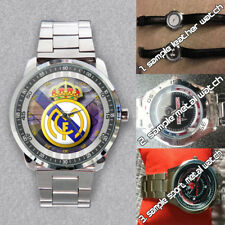 Get Yours Now! Real Madrid CF La Liga Spain Club New Stylish Unisex Wristwatches