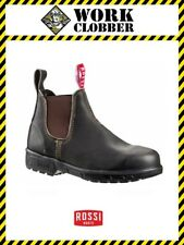 Rossi Endura Kip Leather Work Boot in Claret 303 NEW IN BOX!