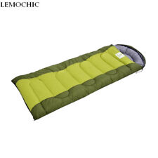 Thermal Envelope Sleeping Bag Travel Outdoor Camping Hiking Autumn Winter Gear