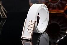 New Fashion Letter Pattern Candy Color Smooth Buckle Belt For Men R265