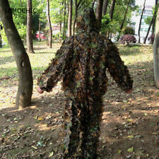 Camouflage 3D Bionic Camo Woodland Hunting Paintball Ghillie Suit Tactical Wear