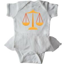 Inktastic Law Scales (gold) Infant Tutu Bodysuit Lawyer Office Scale Justice Hws