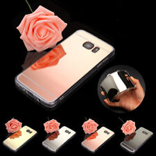 Luxury Ultra Thin Mirror Silicone TPU Cover Case For Samsung Galaxy S7 / S7 Edge