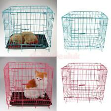 Heavy Duty Steel Folding Pet Cage Crate Dog Kennel for Dogs Rabbits Puppies Cats