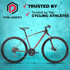 NEW 2018 Polygon Heist 5.0 - 29er Hybrid Commuter Bike-Shimano Deore