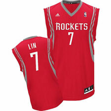 adidas Jeremy Lin Houston Rockets Youth Red Replica Road Jersey - NBA