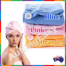 Microfibre hair towel Drying Wrap Turbie Twist Cap Dryer Care 3 color hair towel