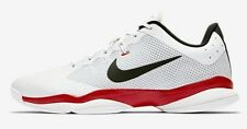 Nike COURT AIR ZOOM ULTRA MEN'S TENNIS SHOE White/Red/Black- US 11, 11.5 Or 12