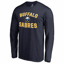 Buffalo Sabres Navy Victory Arch Long Sleeve T-Shirt - NHL