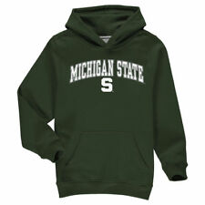 Fanatics Branded Michigan State Spartans Youth Green Campus Pullover Hoodie