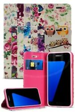 For Samsung Galaxy S7 Edge / SM-G935F Fashion Luxury Flower Magnetic Wallet Case