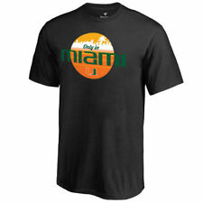 Fanatics Branded Miami Hurricanes Youth Black Only In Miami T-Shirt - College