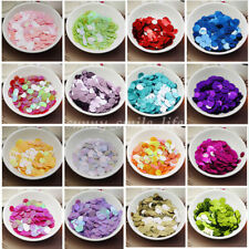 150X Round Sequins Paillettes Sewing DIY for Dancing Clothing Various Color 10mm