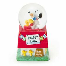 JAPAN 2017 SNOOPY ADN HIS FRIENDS WOOD STOCK ROOF CHRISTMAS SNOW GLOBE 626108