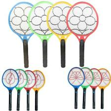 1x Mosquito Fly Zapper Swatter Killer Electric Racket Rechargeable Battery Power