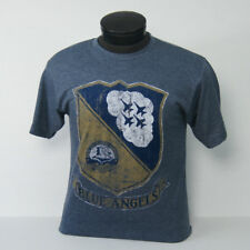 NEW for Fall 2017!!  US Navy Blue Angels Distressed Vintage Crest t-shirt