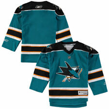 Reebok San Jose Sharks Youth Teal Blank Replica Jersey - NHL