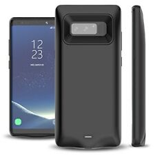 Samsung Galaxy Note 8 Battery Case 5500mAh External Portable Charger LED Light